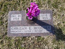 """Chrisan E. """"Chris"""" McQueen"""