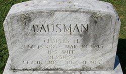 Bessie J <I>Van Winkle</I> Bausman