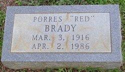 "Porres ""Red"" Brady"