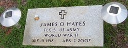 James Ottis Hayes
