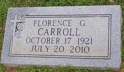 Florence G Carroll