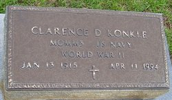 Clarence D Konkle