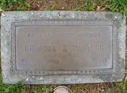 Georgia Greta <I>Zumwalt</I> McAfee