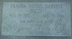 "Shauna Nicole ""Nicci"" Garrett"