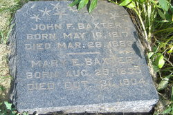 Mary Ellen <I>Mowrey</I> Baxter