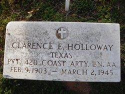 Clarence Edmon Holloway