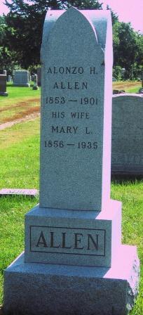 Mary Louisa <I>Botts</I> Allen