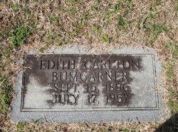 Edith Jane <I>Carlton</I> Bumgarner
