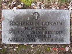 Sgt Richard N Corwin