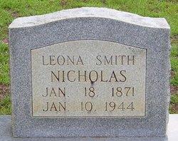 Leona <I>Smith</I> Nicholas