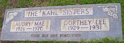 Dorthey Lee Kahl
