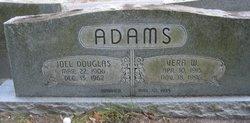 Vera <I>Williams</I> Adams