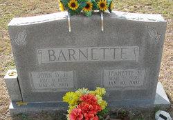 Jeanette <I>Harley</I> Barnette
