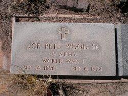 "Joseph Pete ""Joe Pete"" Wood, Sr"