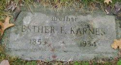 Esther Frances <I>Calfee</I> Karnes