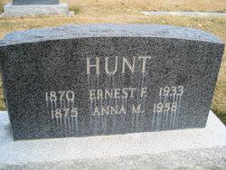 Ernest Frank Hunt