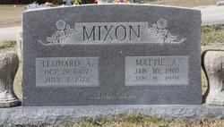 Leonard Asa Mixon