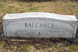 Marian Lavina <I>Whitehurst Lucey</I> Ballance