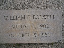 "William Francis ""Bill"" Bagwell"