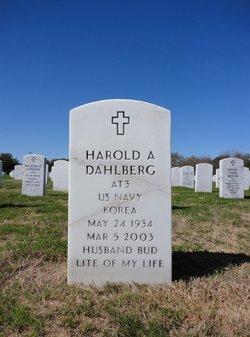 """Harold Arthur """"Bud"""" Dahlberg"""