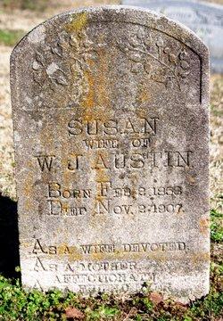 """Susan """"Susie"""" <I>Lewis</I> Austin"""
