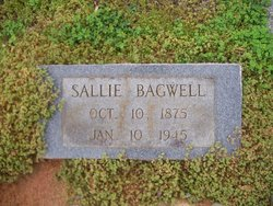 Sallie <I>Monroe</I> Bagwell