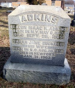 Sarah Jane <I>Buckbee</I> Adkins