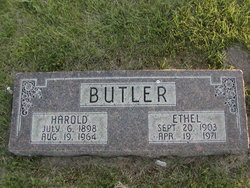 Ethel <I>Dinkel</I> Butler