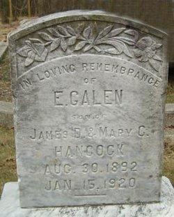 E. Galen Hancock