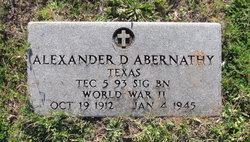 Alexander D. Abernathy