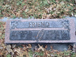 Helen Marie <I>Rhoads</I> Friend