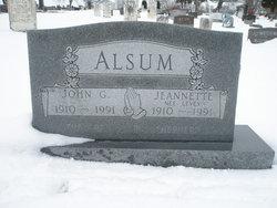 Jeanette <I>Levey</I> Alsum