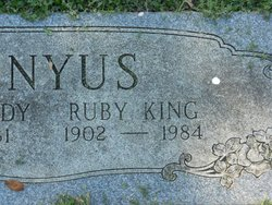 Ruby Gordon <I>King</I> Cunyus