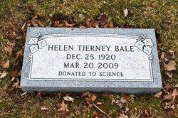 Helen <I>Tierney</I> Bale