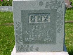"Benjamin E. ""Ben"" Cox"