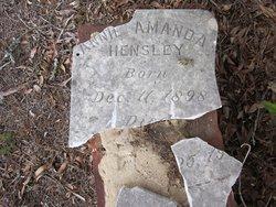 Annie Amanda Hensley