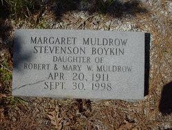 Margaret Stevenson <I>Muldrow</I> Boykin