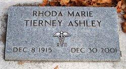 Rhoda Marie <I>Tierney</I> Ashley