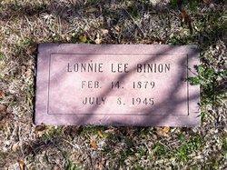 Lonnie Lee Binion