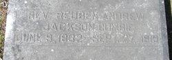 Rev Reuben Andrew Jackson Cumbie
