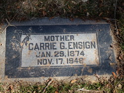 Carrie <I>Grinnell</I> Ensign