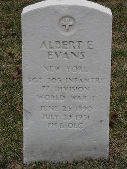 Albert E Evans