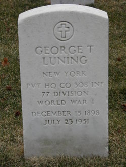 George T Luning