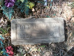 "Mary Elizabeth ""Bettie"" <I>Mayo</I> Curry"