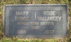 Mary A. <I>O'Donnell</I> Dodge