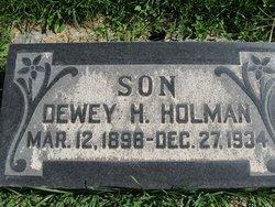 Dewey Hudson Holman
