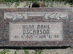 Hilda Maria Oscarson
