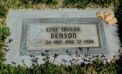 Lyle Taylor Benson
