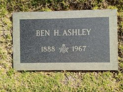 Benjamin Harrison Ashley