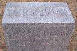 """Ludvig M. """"Lewis"""" Lunstrum"""